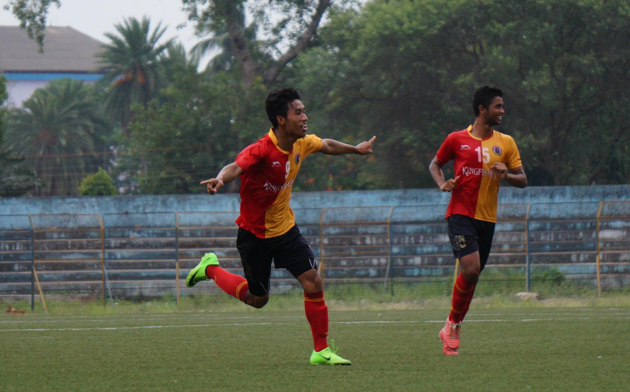 East Bengal U18 celebrate