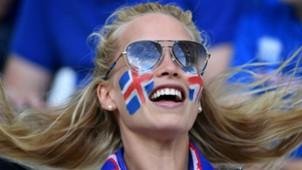 Iceland fan