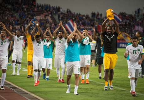 Saudi thrashes Thailand 3-0