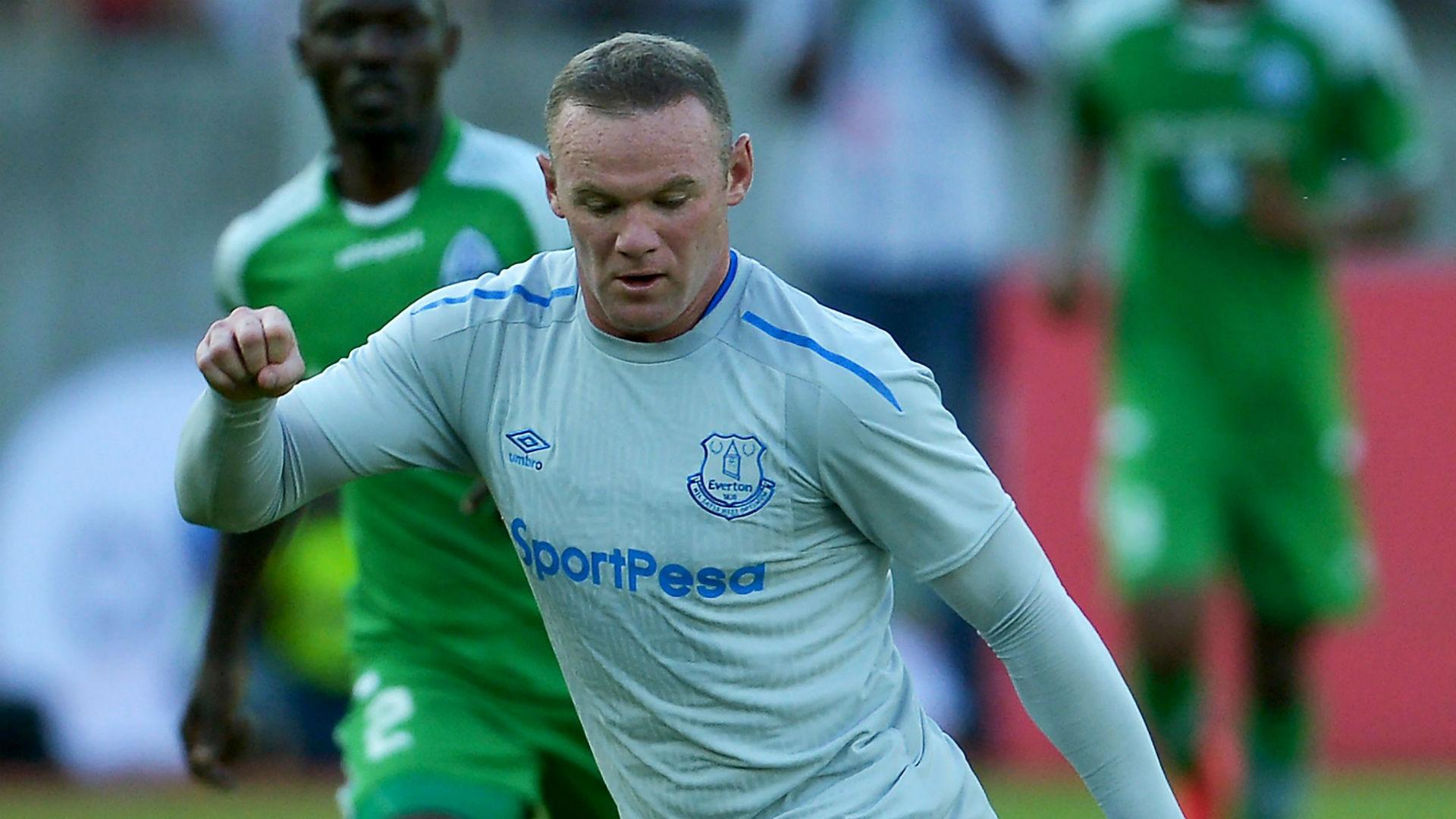 Wayne Rooney Everton SportsPesa Super Cup final