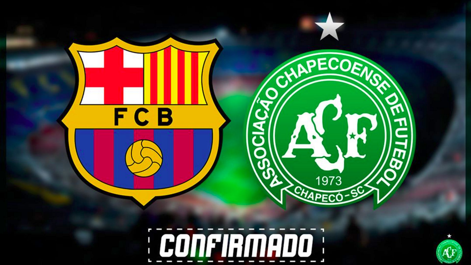 Chapecoense enfrenta Barcelona hoje em torneio amistoso