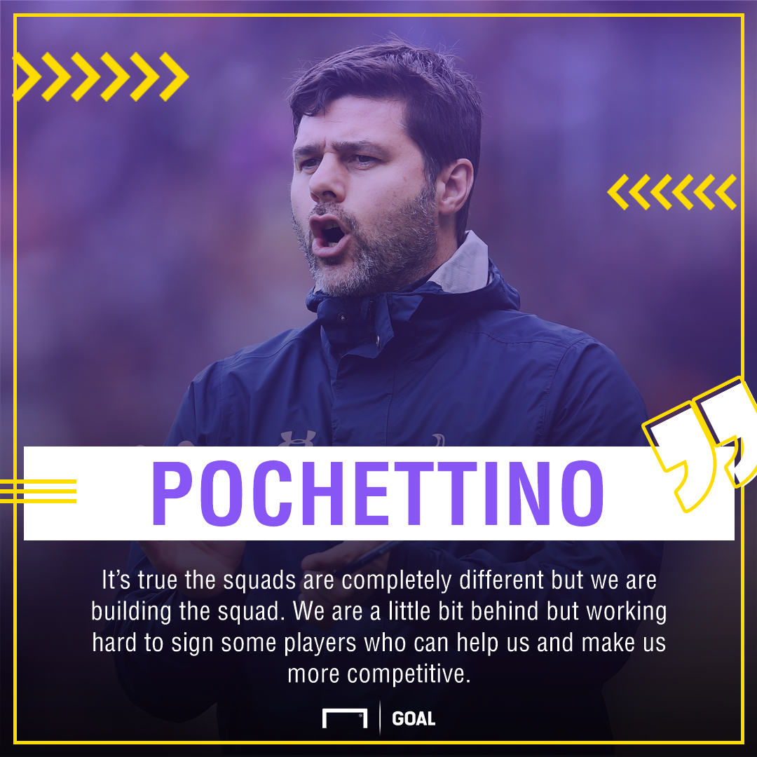 Mauricio Pochettino transfers 2017