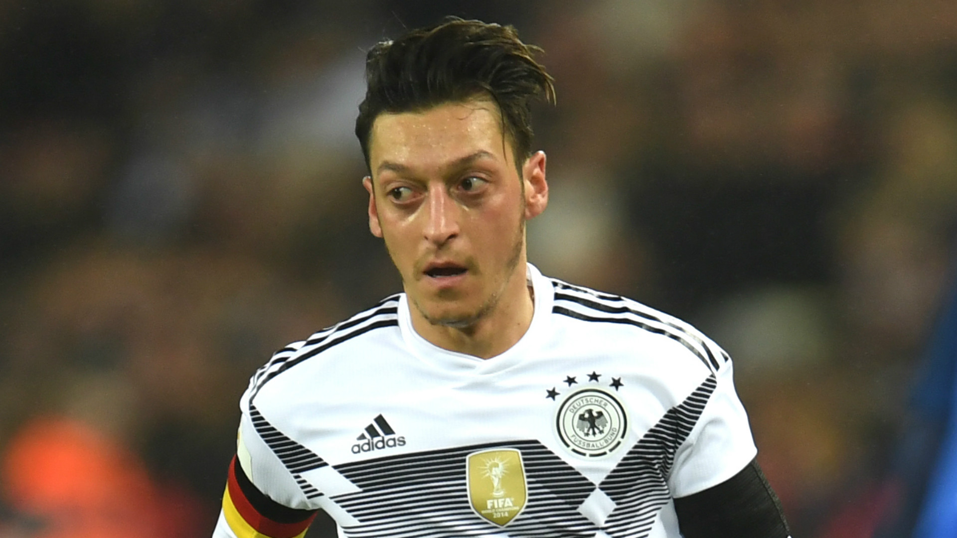 Injured Ozil to miss Germany's final warm-up