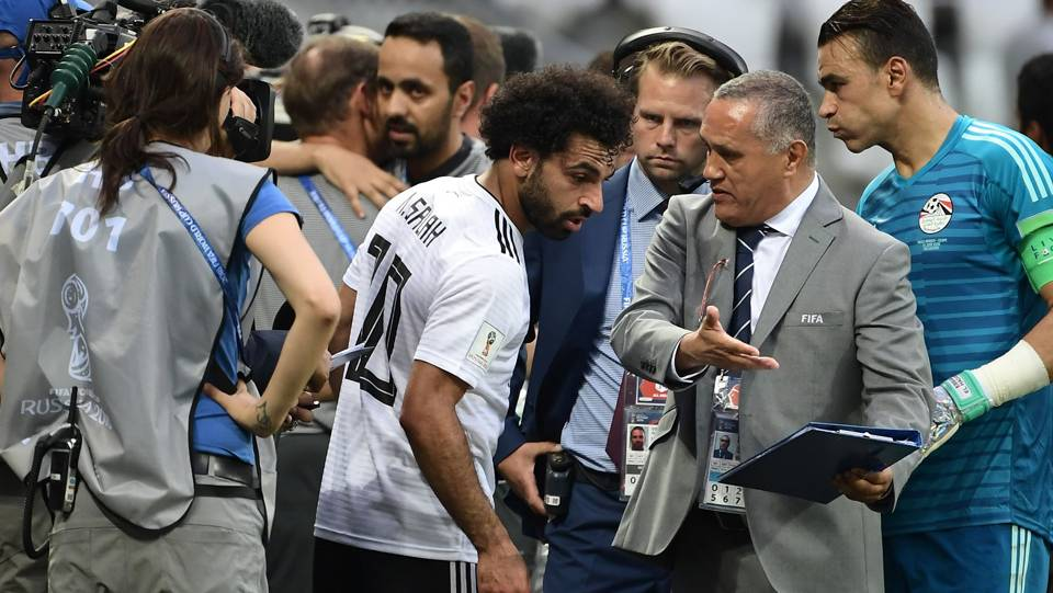 Liverpool star Salah apologises to Egypt fans after World Cup disappointment