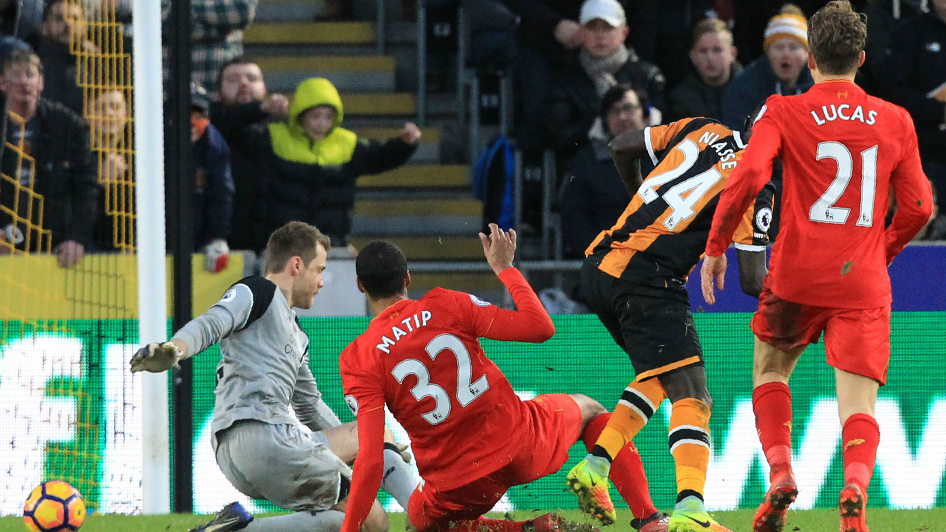 HD Hull 2-0 Liverpool