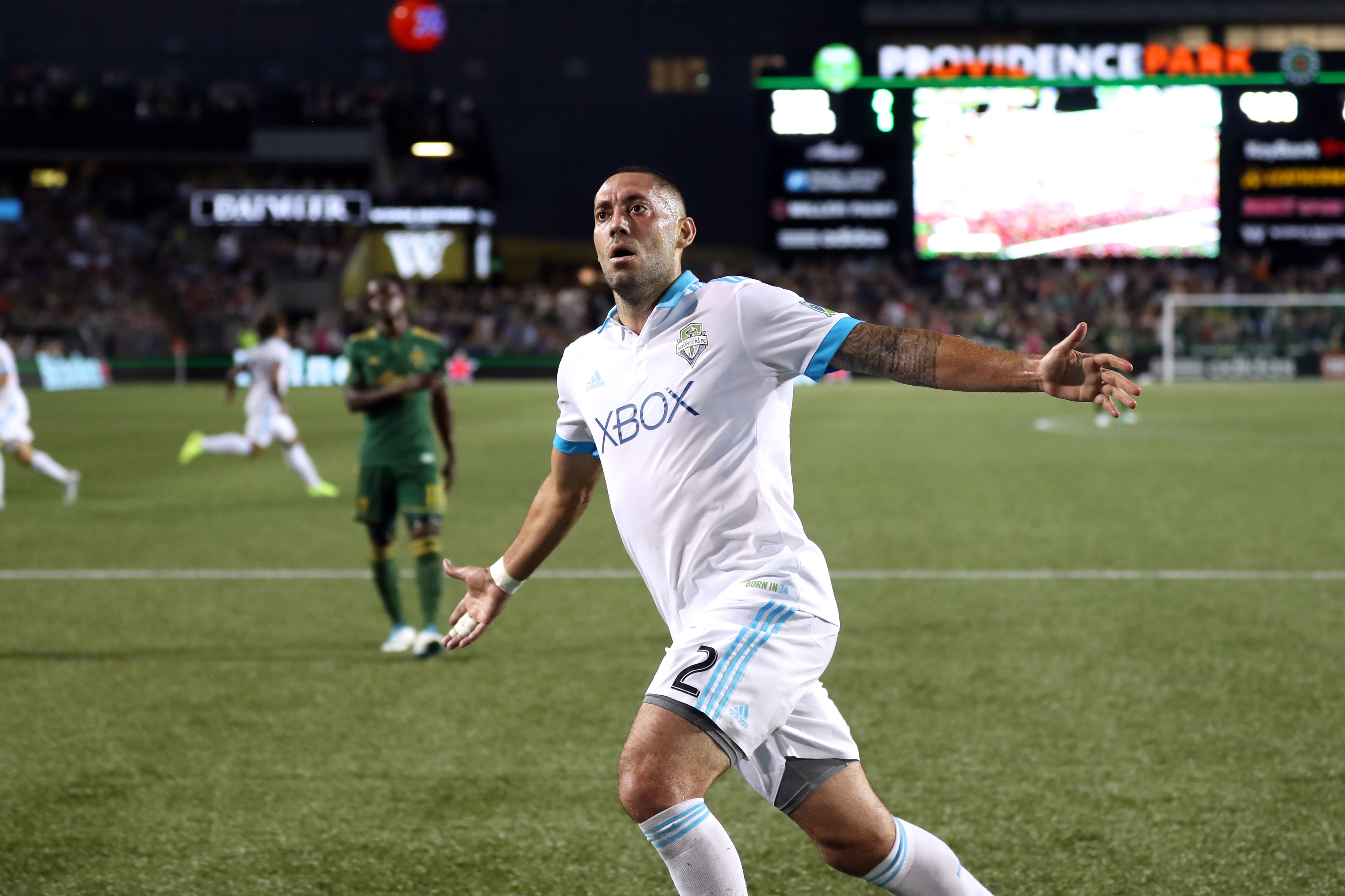Clint Dempsey Seattle Sounders Portland Timbers