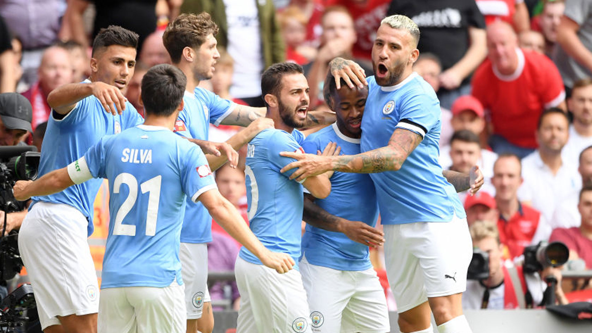 Liverpool - Manchester City (1-1 a.t.b. 4-5) - Le Community Shield pour Manchester City