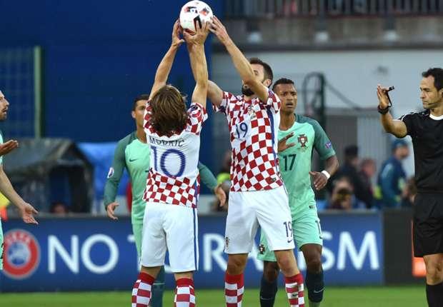 Luka Modrić i Milan Badelj