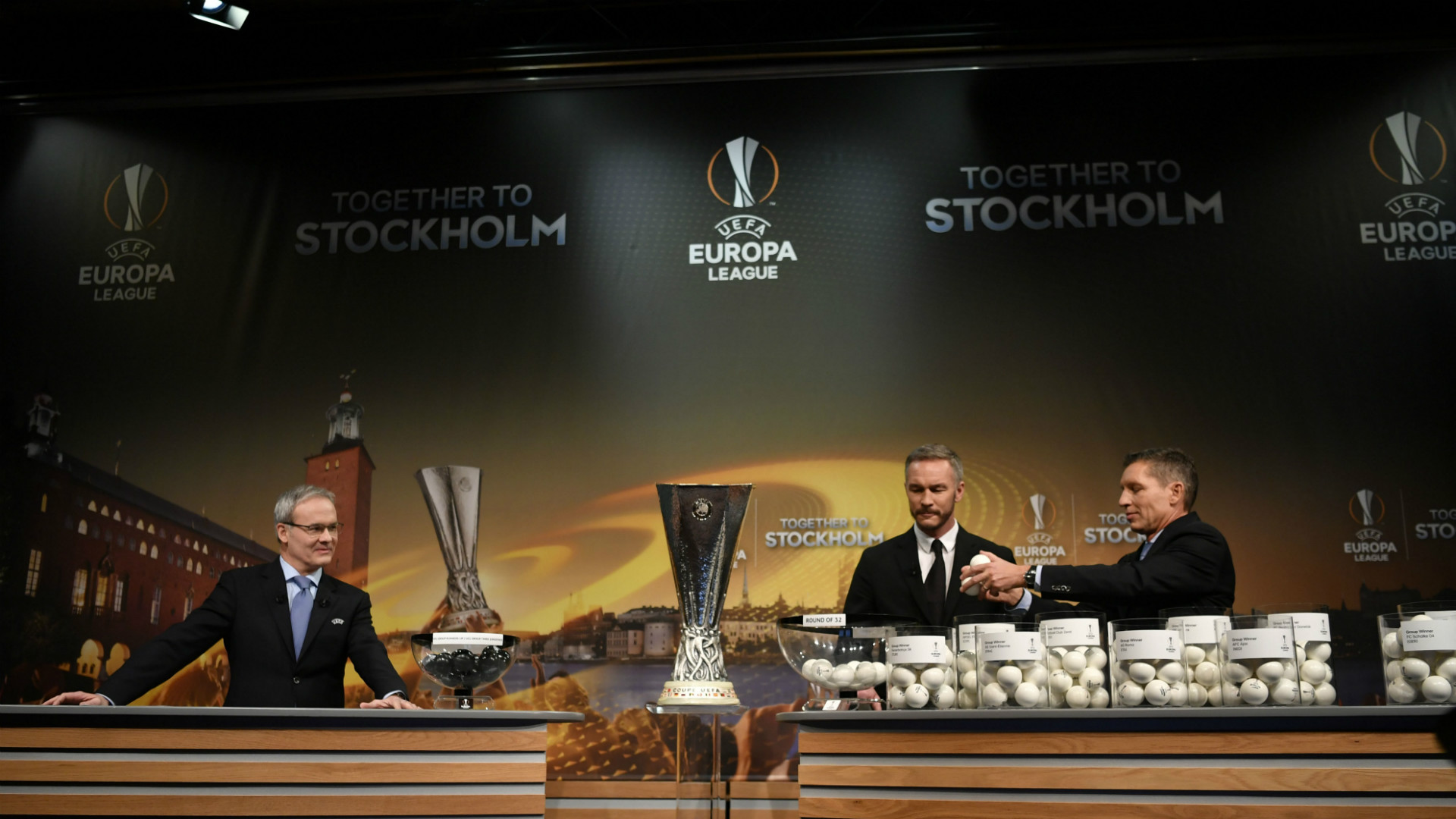 Europa League draw 2016-17