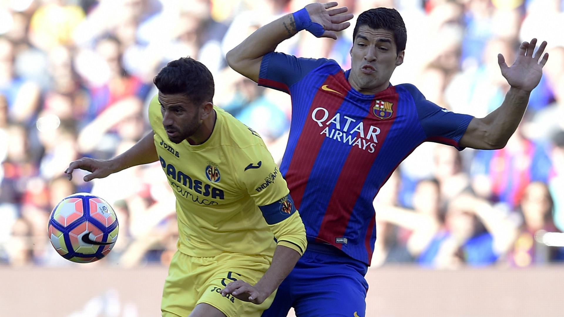 Luis Suarez Mateo Musacchio Barcelona Villarreal LaLiga 06052017