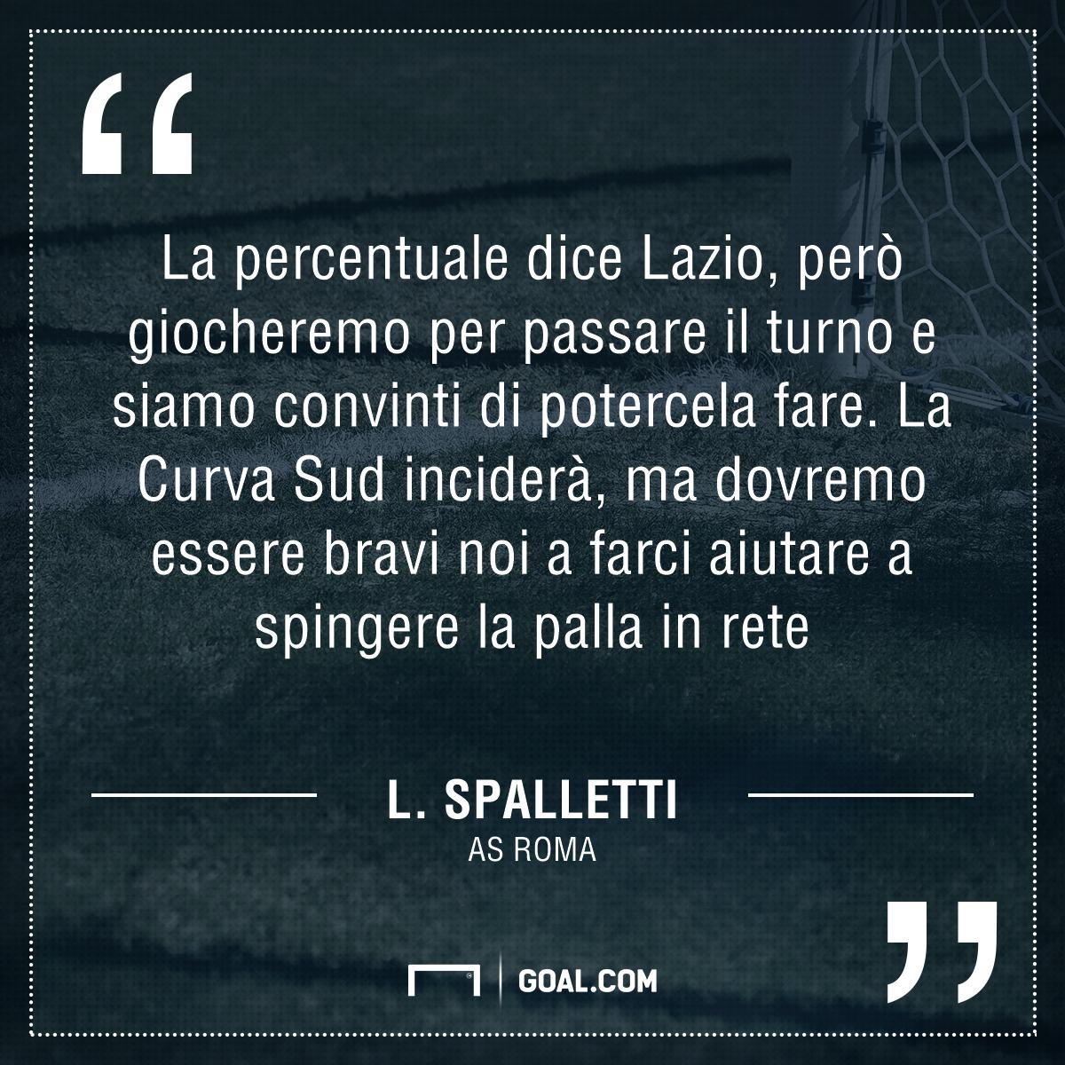 Conferenza Spalletti: