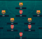 Barca & Arsenal lead WTOTW
