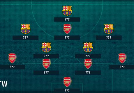 Barca & Arsenal lead WTOTW