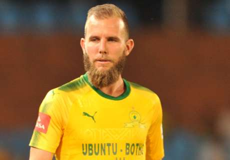 Brockie's goal drought doesn't worry Sundowns