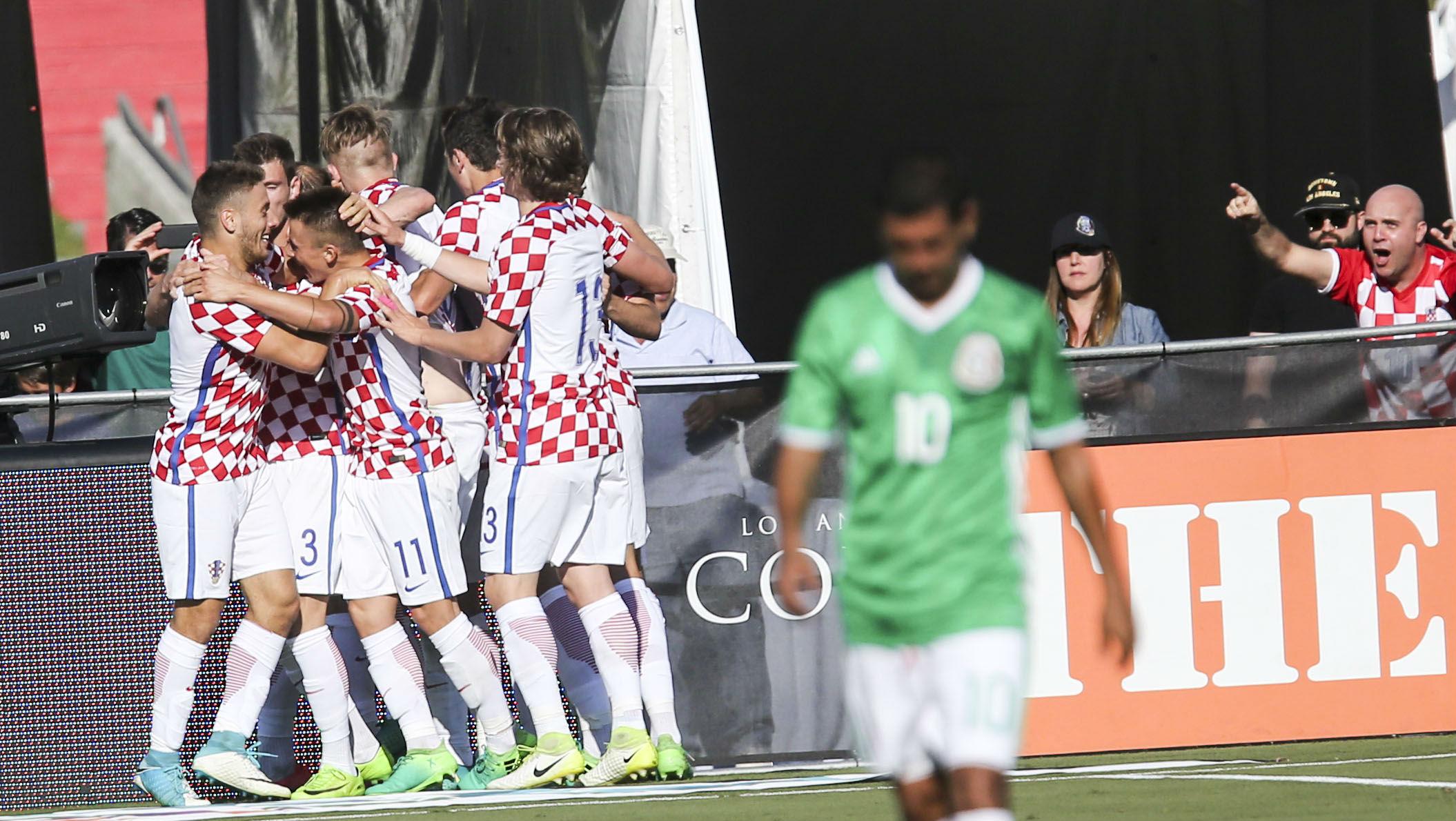 Croatia Mexico friendly