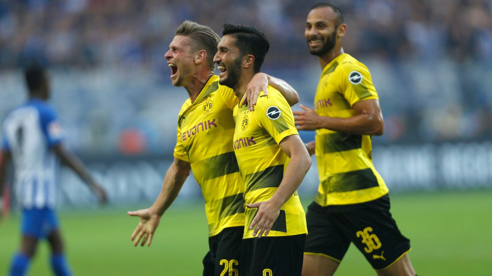 Nuri Sahin Borussia Dortmund Hertha Berlin Bundesliga 08262017