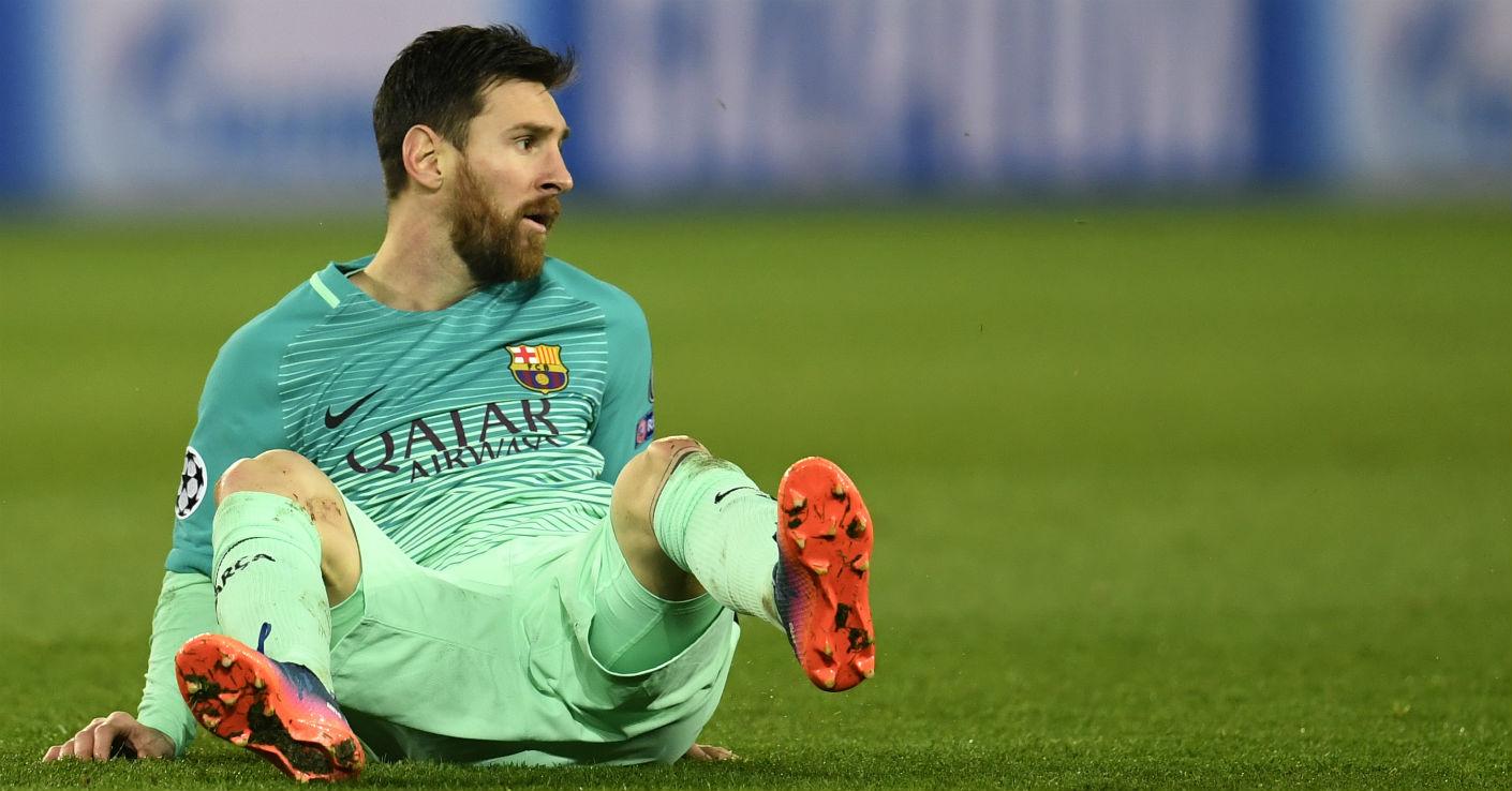Messi Barcelona PSG