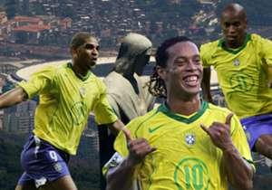 Technisch hochwertige Samba-Kicker aus Brasilien gibt es seit viele. Bei FIFA 06 wurden Ronaldinho und Co. besonders gut bewertet. Goal hat die besten zusammengestellt.