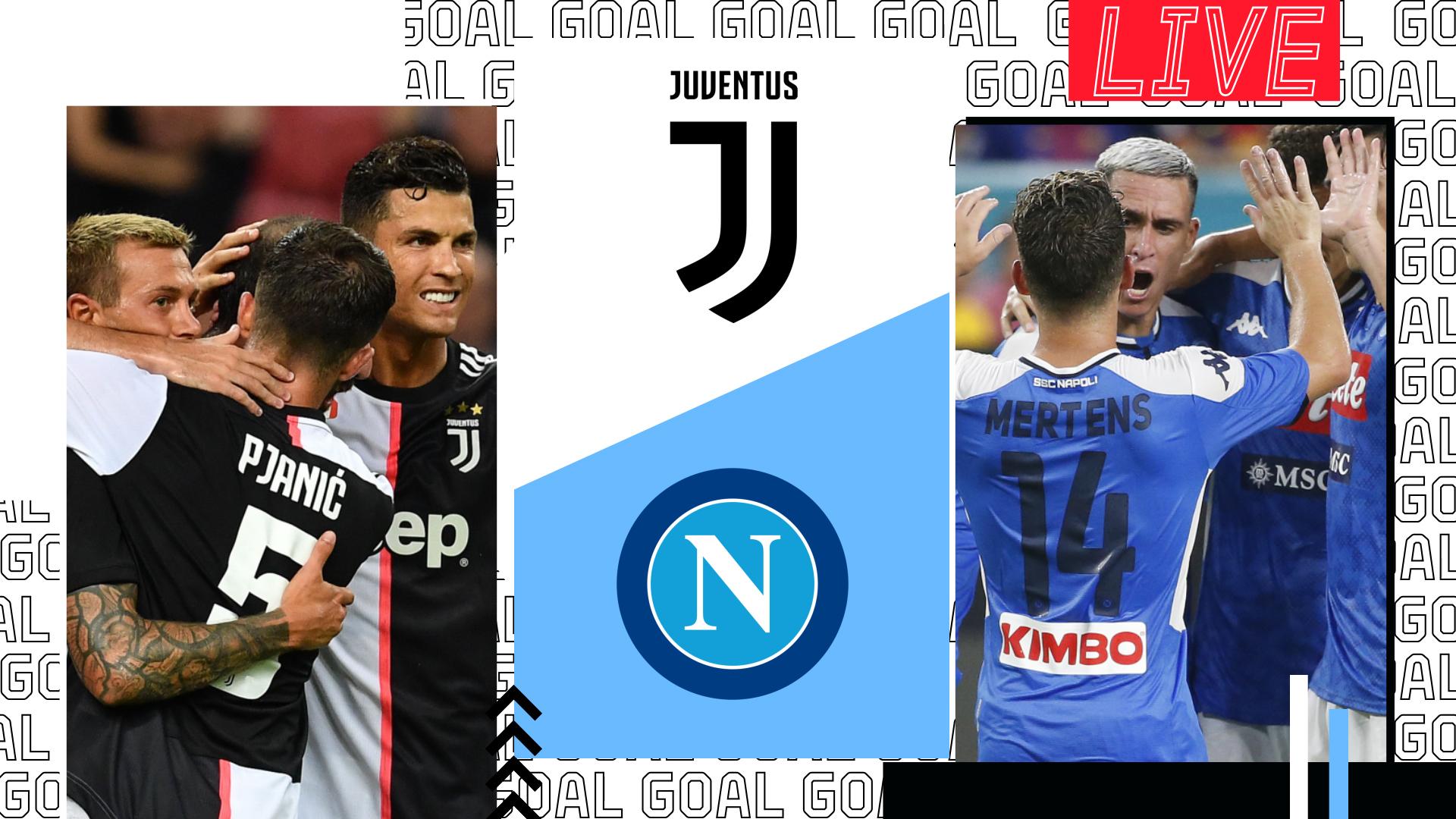 Diretta Juventus Napoli Live Dove Vederla In Tv E Streaming Goal Com