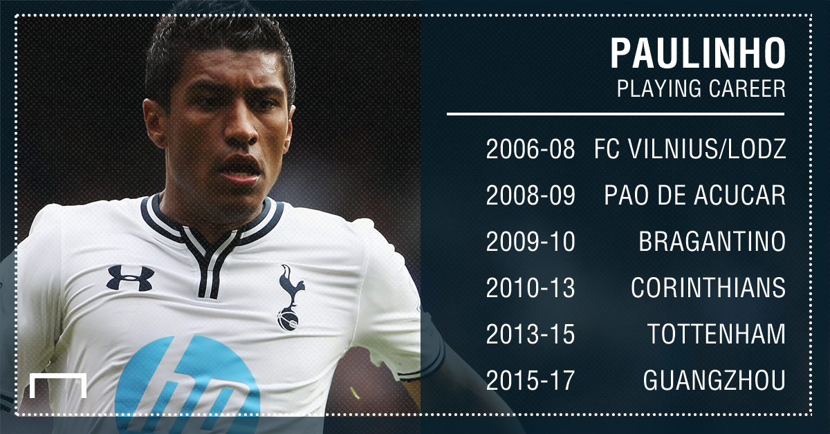 Paulinho career graphic