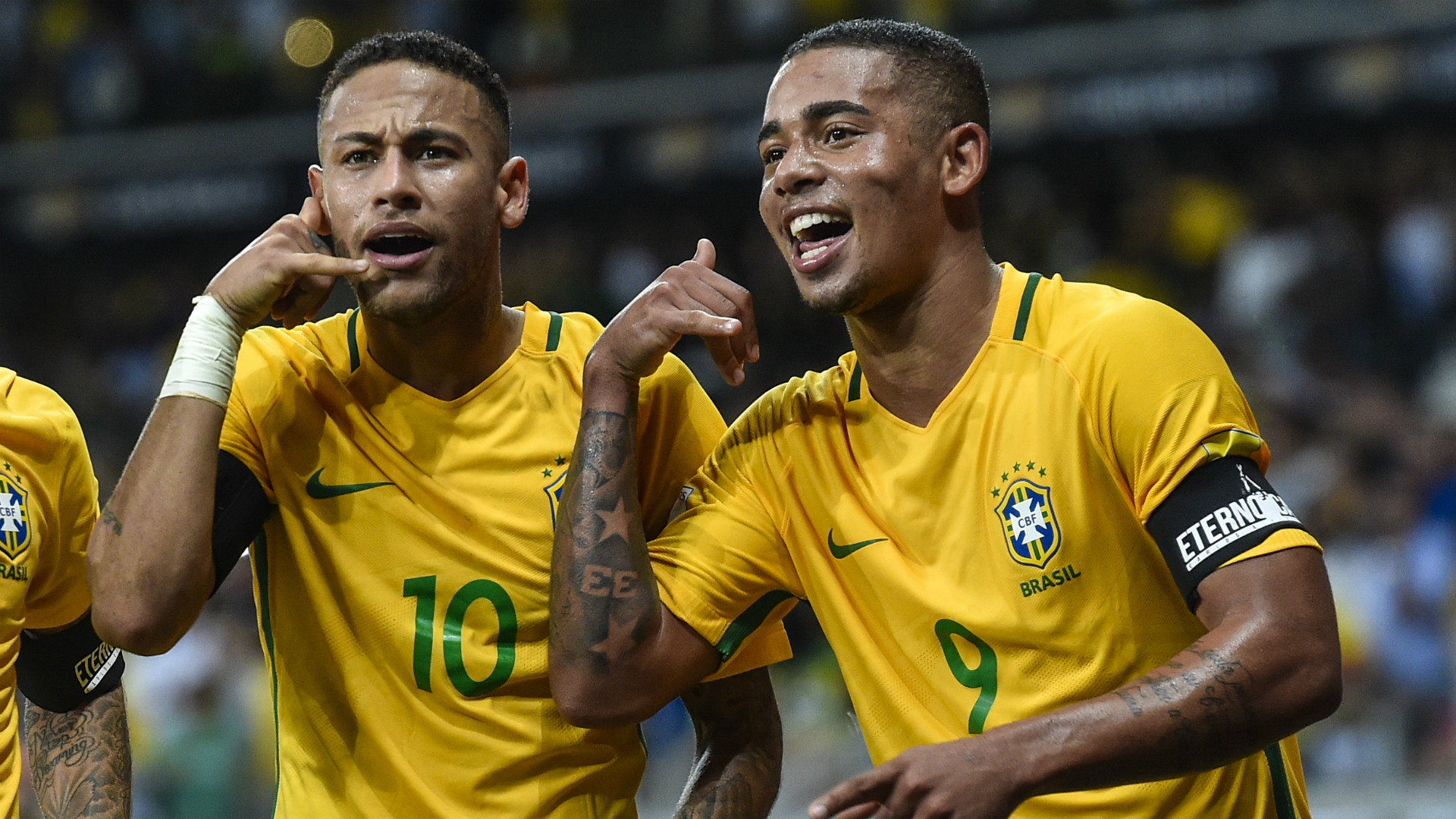 Gabriel Jesus out to follow in Neymar's footsteps as he targets 100 Brazil caps & goals record