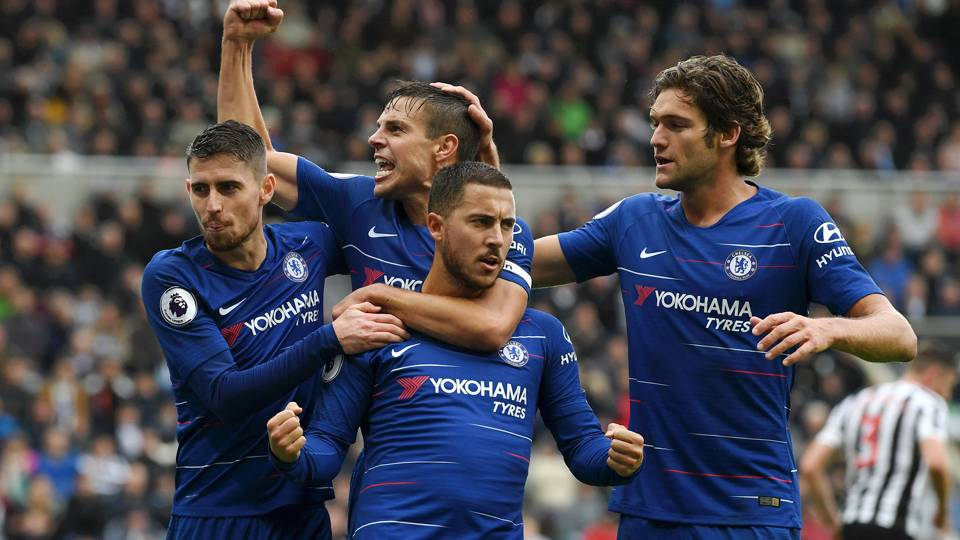Chelsea set club Premier League record in narrow Newcastle victory