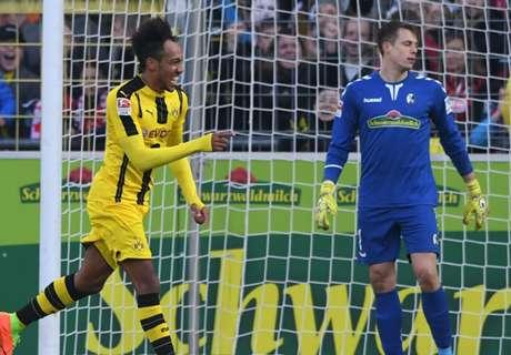 Auba ends four-game goals drought