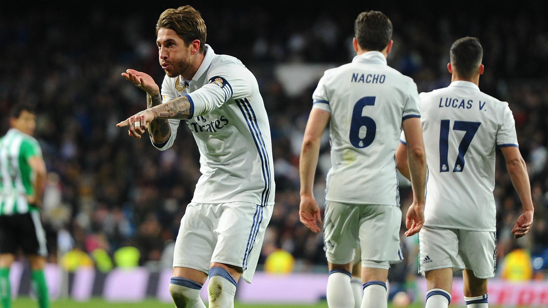 Sergio Ramos Real Madrid La Liga