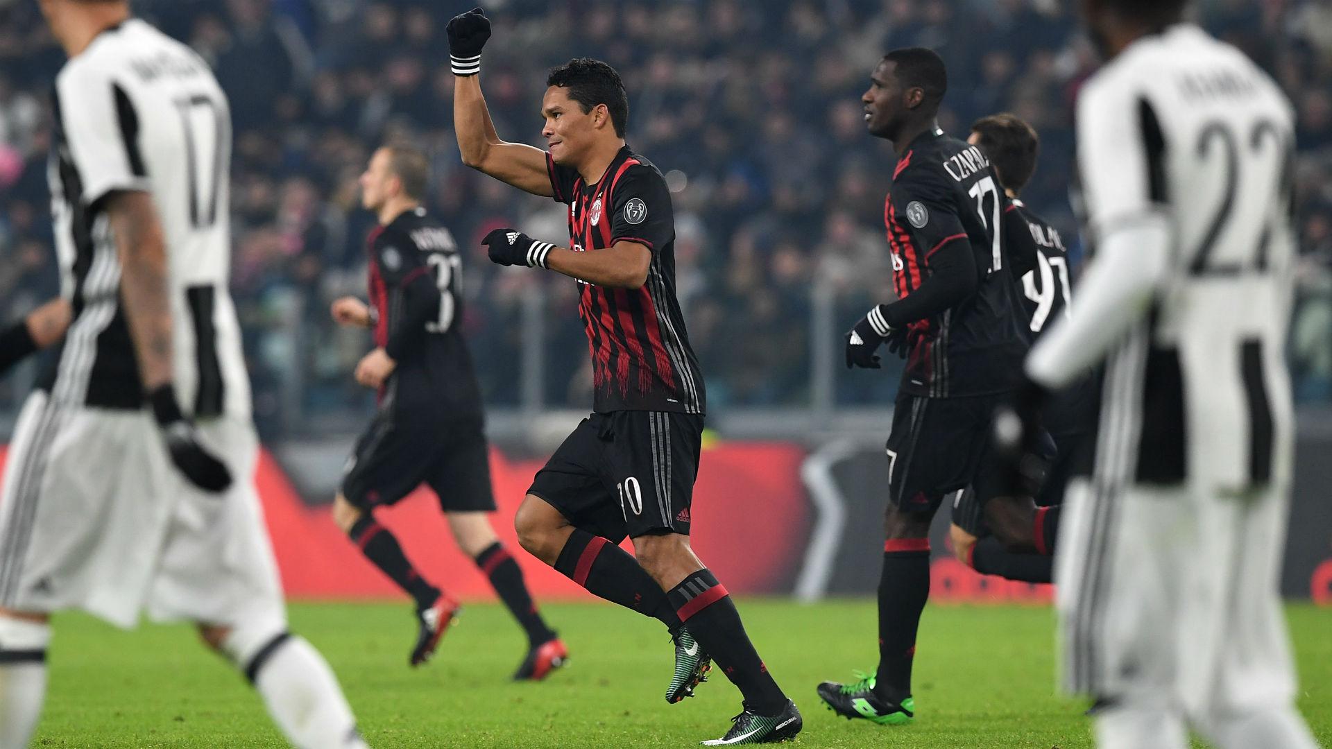 Bacca Juventus AC Milan