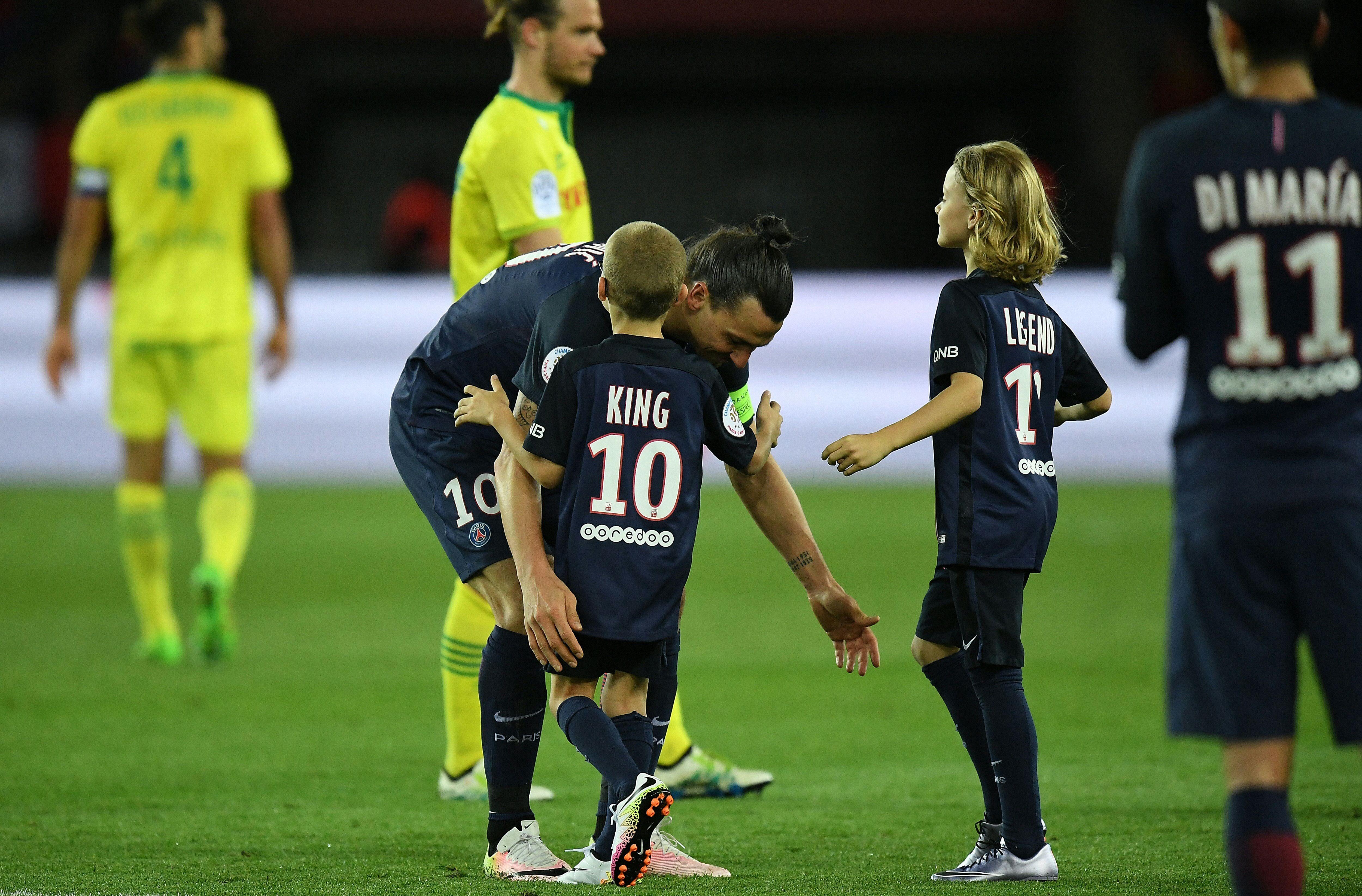 Zlatan Ibrahimovic PSG Nantes 14052016