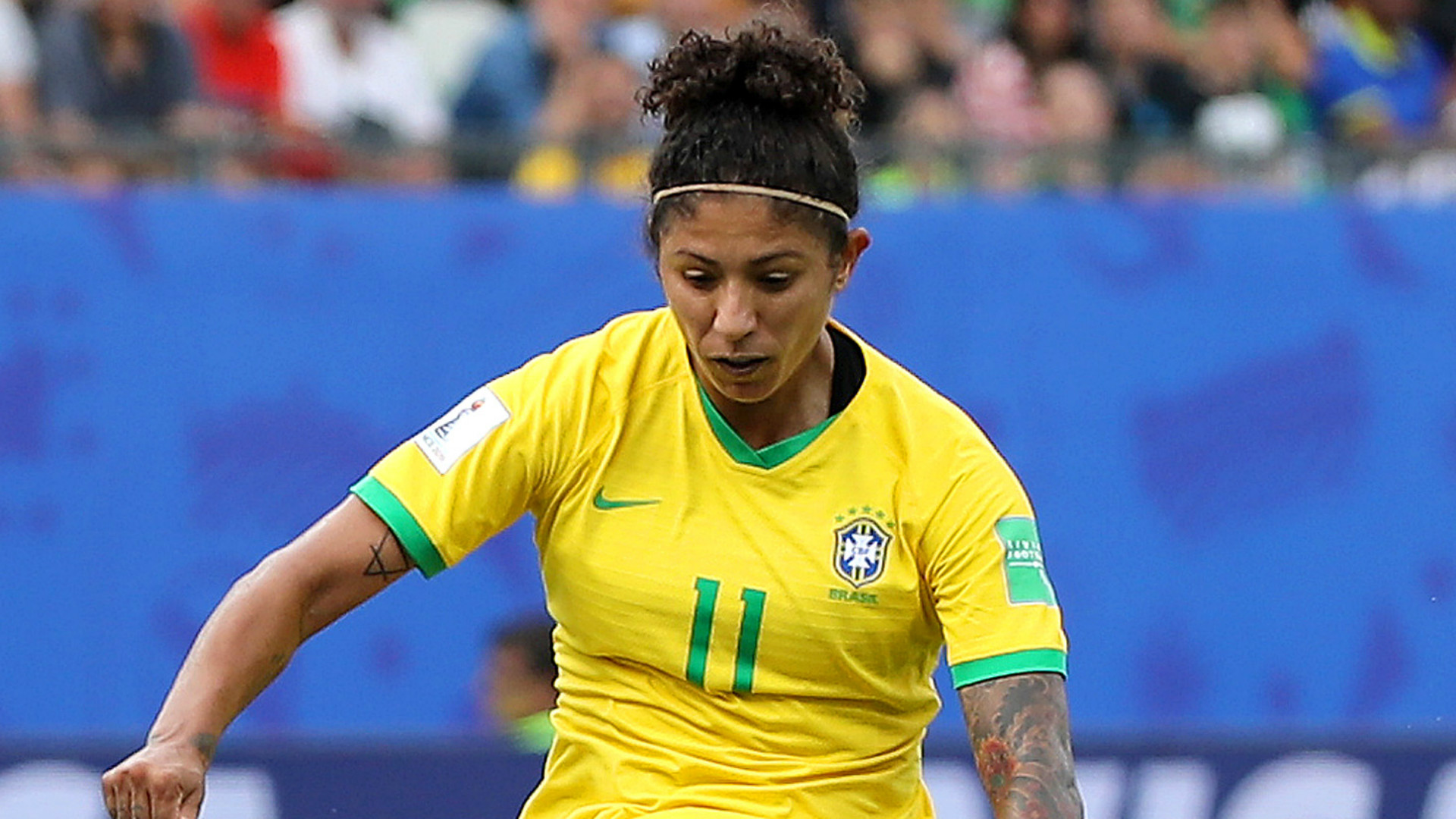 Cristiane beats Oshoala and Nchout to Women's World Cup Goal of the Tournament prize