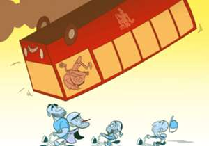 Manchester City sukses mempermalukan Manchester United di Old Trafford untuk membuka lebar peluang juara EPL 2017/18. Simak goresan kartun Omar Momani terkait hasil tersebut, terinspirasi dari film serial populer 'Stranger Things'.