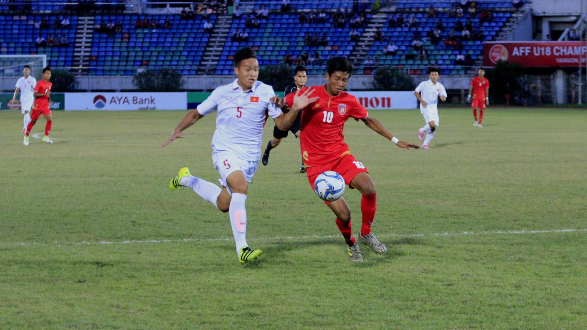 Myanmar U-19 - Vietnam U-19
