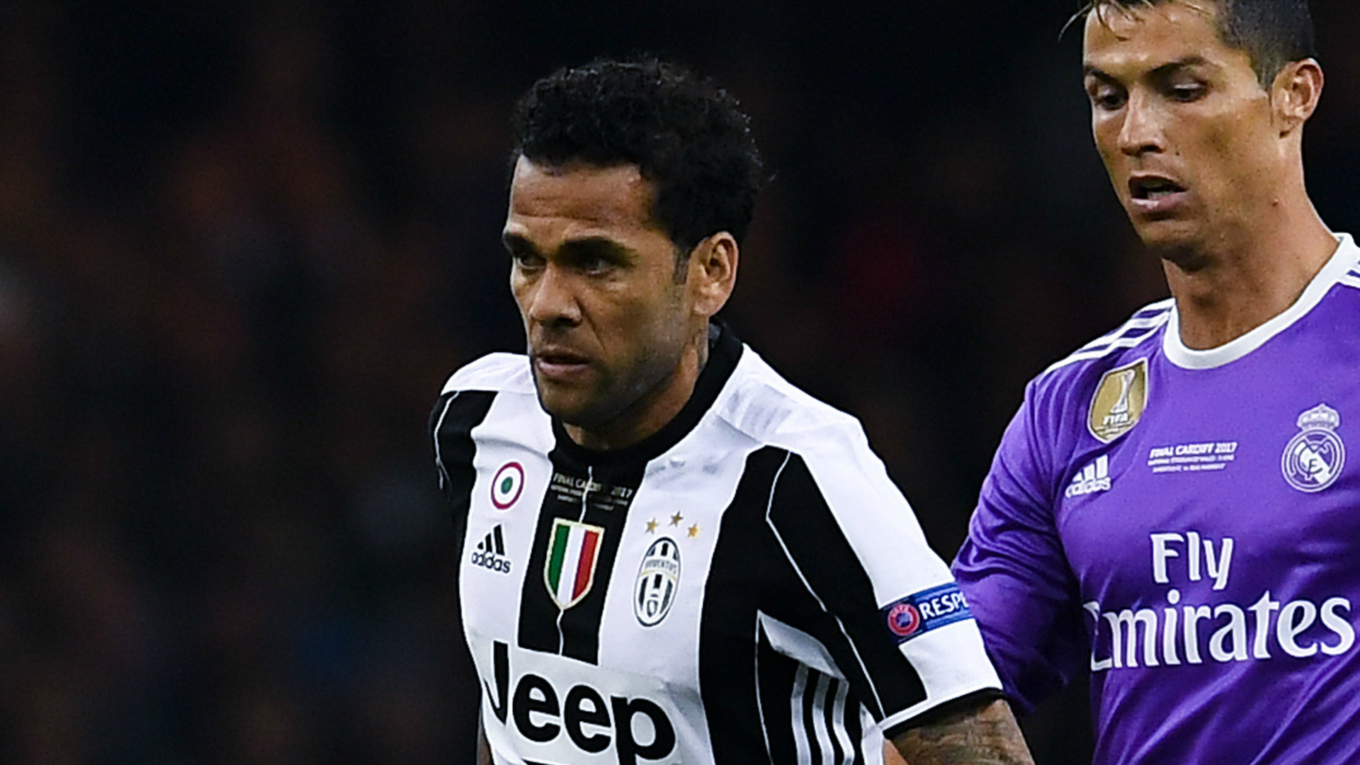 Dani Alves Juventus Real Madrid Champions League final 03062017
