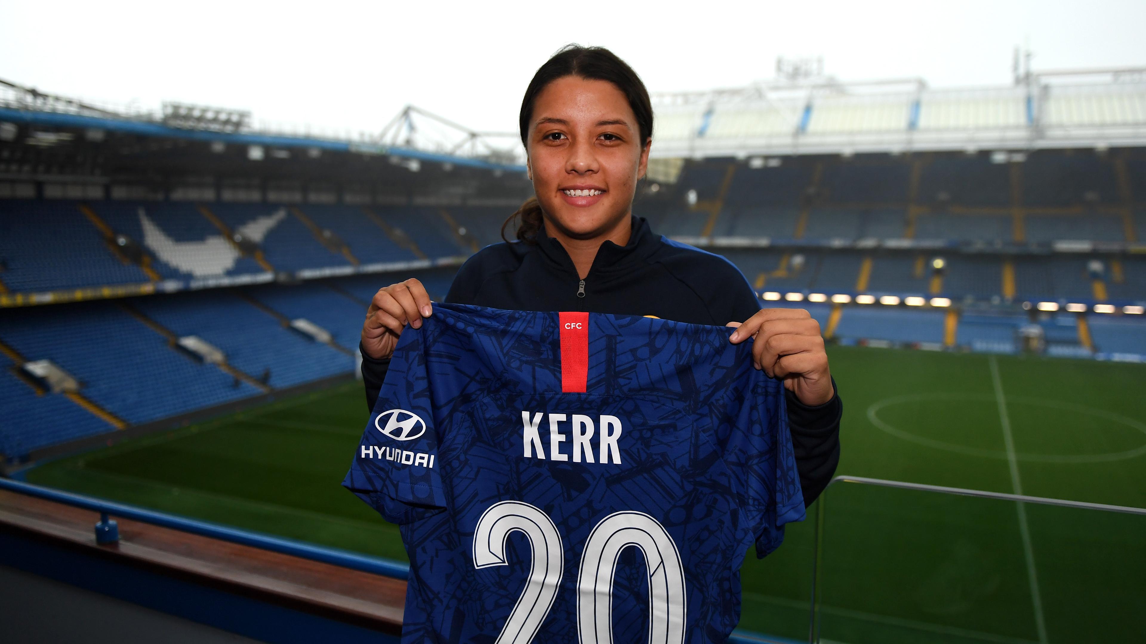 Chelsea Women sign Australian star Sam Kerr