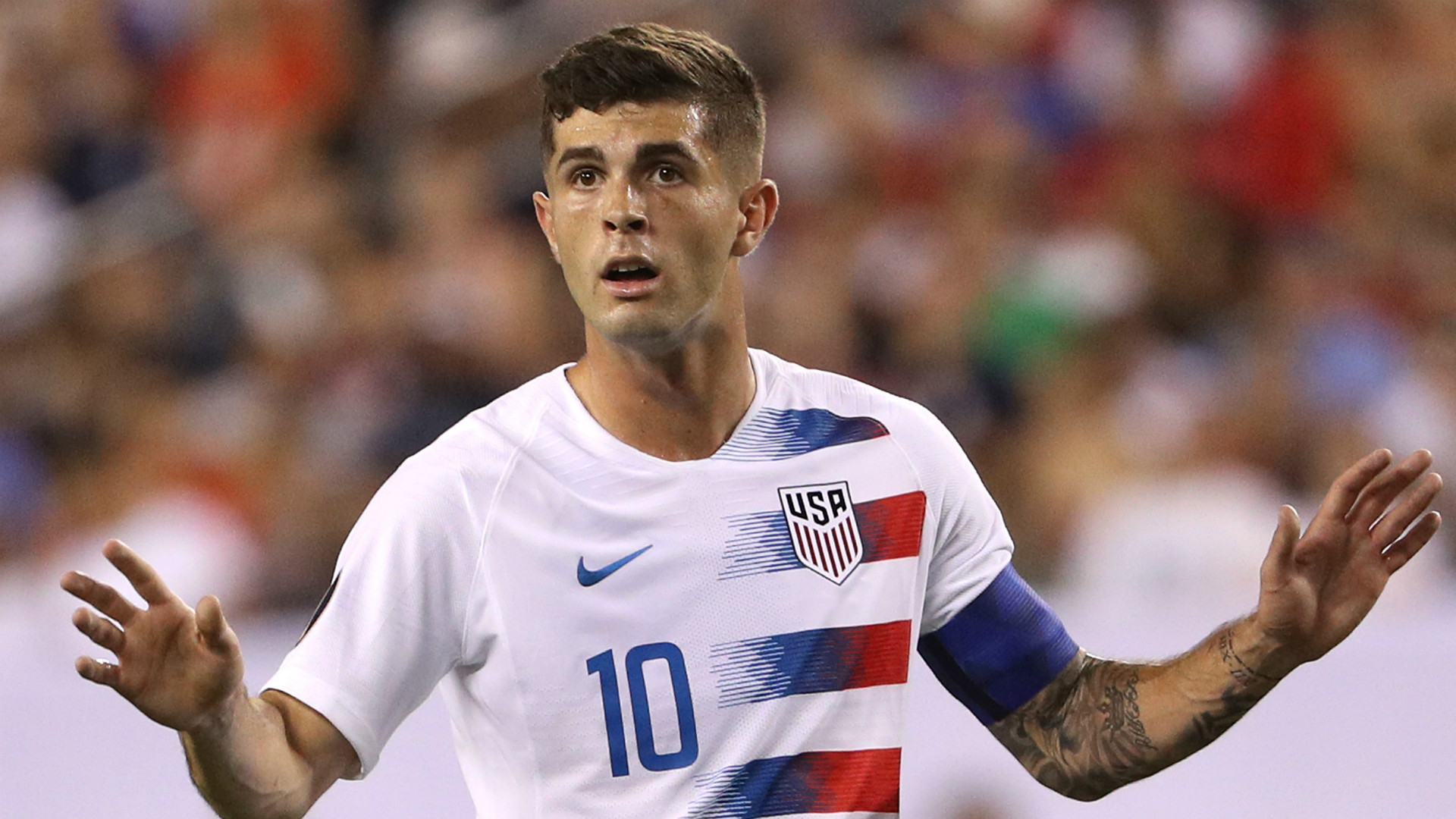 Pulisic: I'm not at Chelsea to replace Hazard