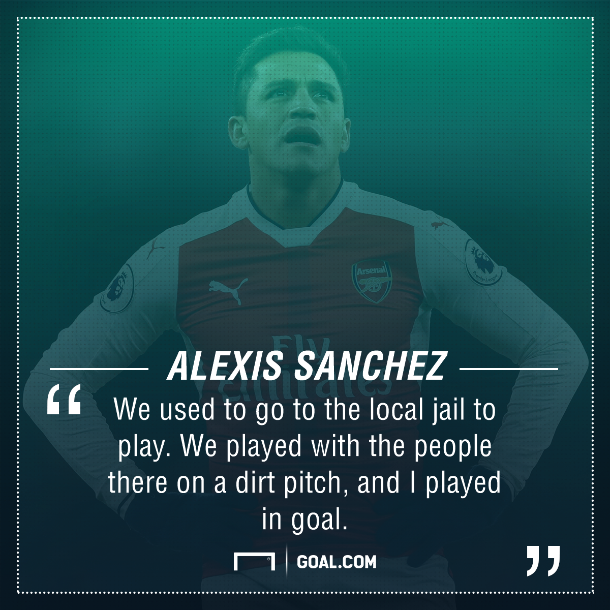 Alexis Sanchez jail