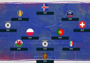 England hat sich blamiert, Spanien wurde geschockt, Kroatien ist gestolpert. Aber welche Spieler waren die Stars des EM-Achtelfinals in Frankreich?
