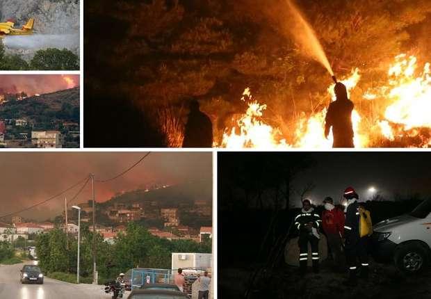 Požar hara Dalmacijom