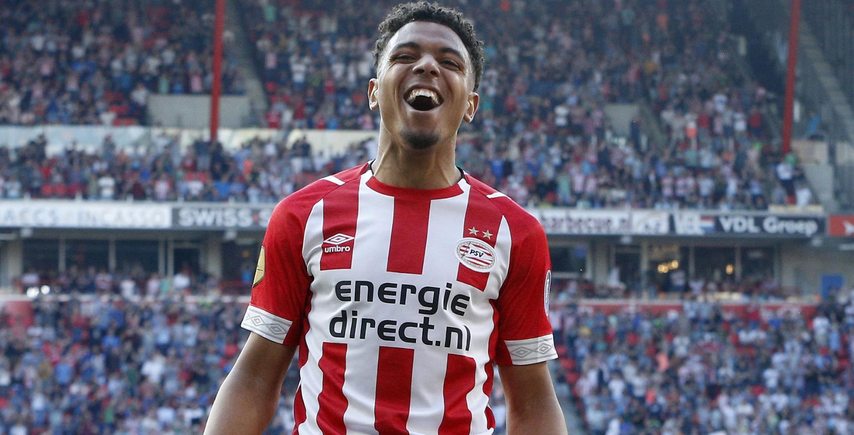 Ex-Arsenal forward Malen scores five goals for PSV