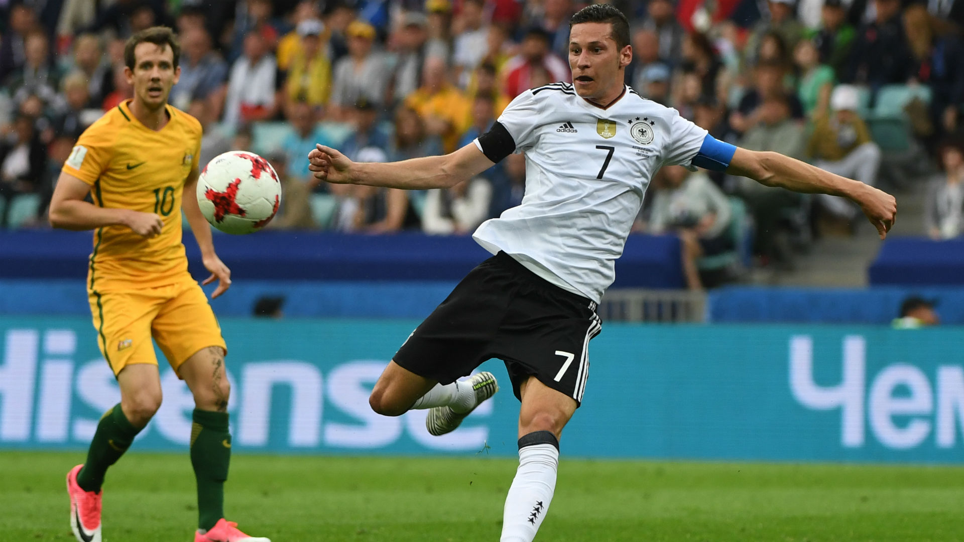 Confederations Cup: Germany reaches semis amid more replay confusion