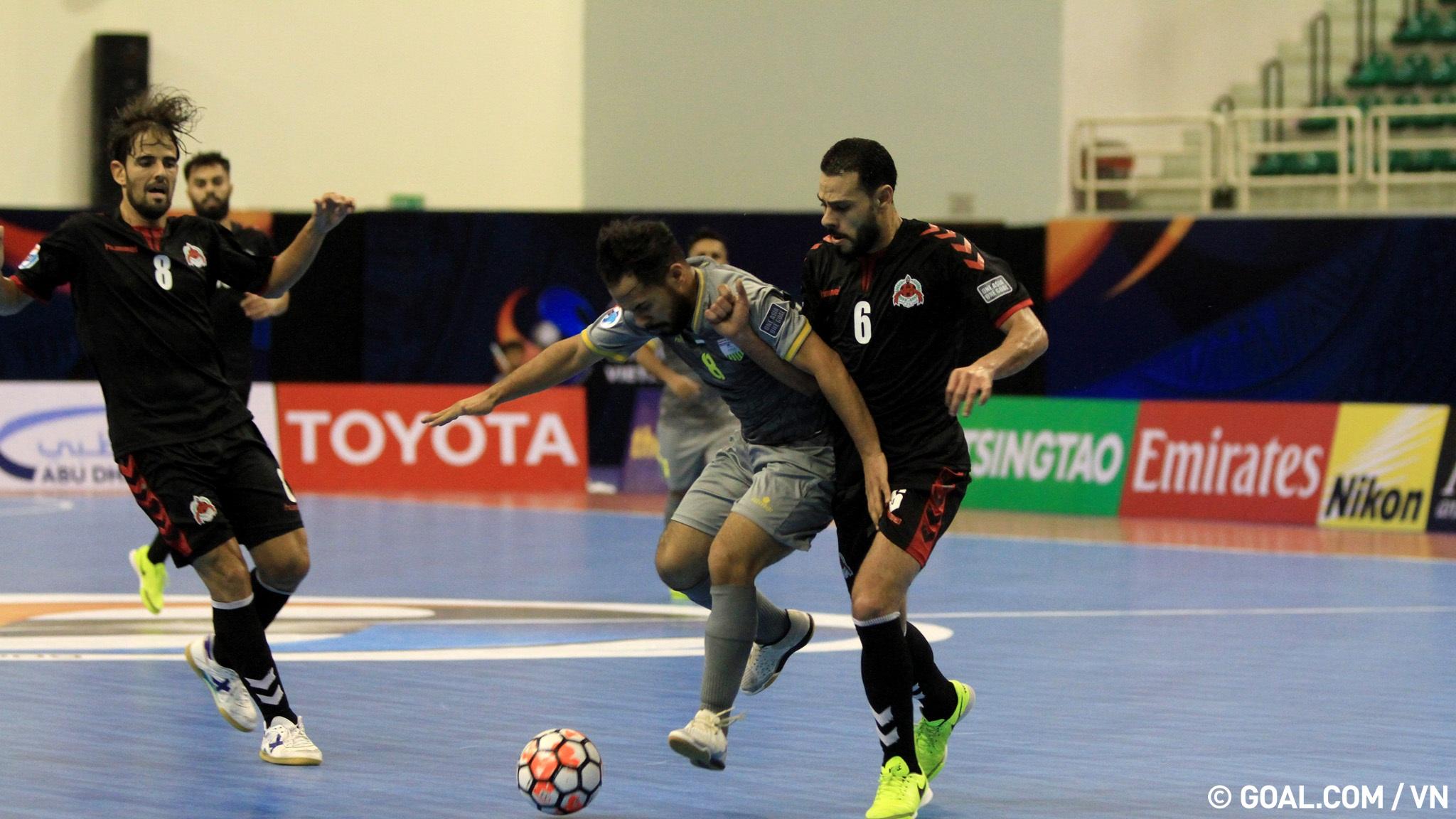 2017 AFC Futsal Club Championship   Al Dhafra (UAE) 3-4 Al Rayyan (Qatar)