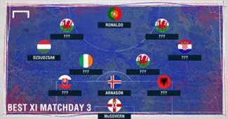 ??? GFX Best XI Euro 2016 Matchday 3