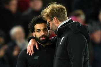 Liverpool's Jurgen Klopp 'not for one second worried' about Salah's form
