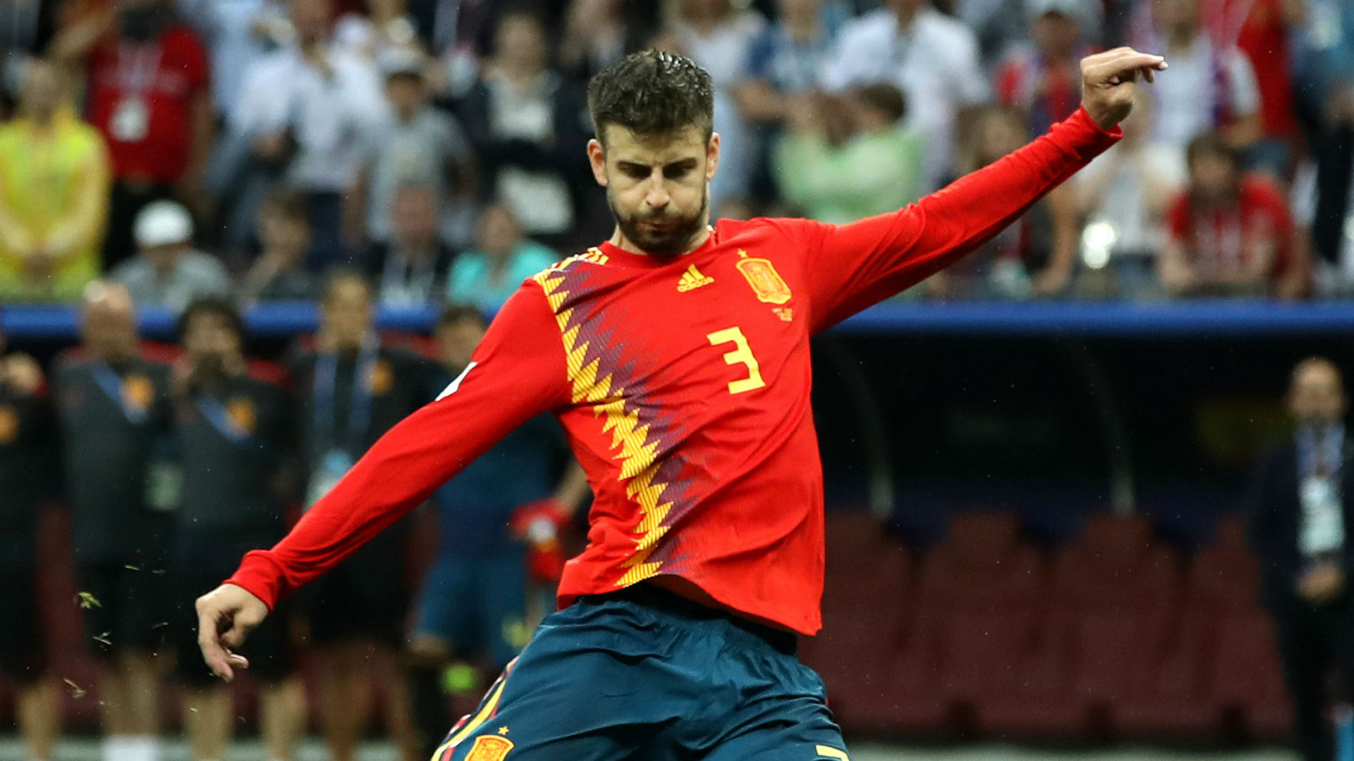 Barcelona star Pique open to joining Ramos in Spain's Olympic team