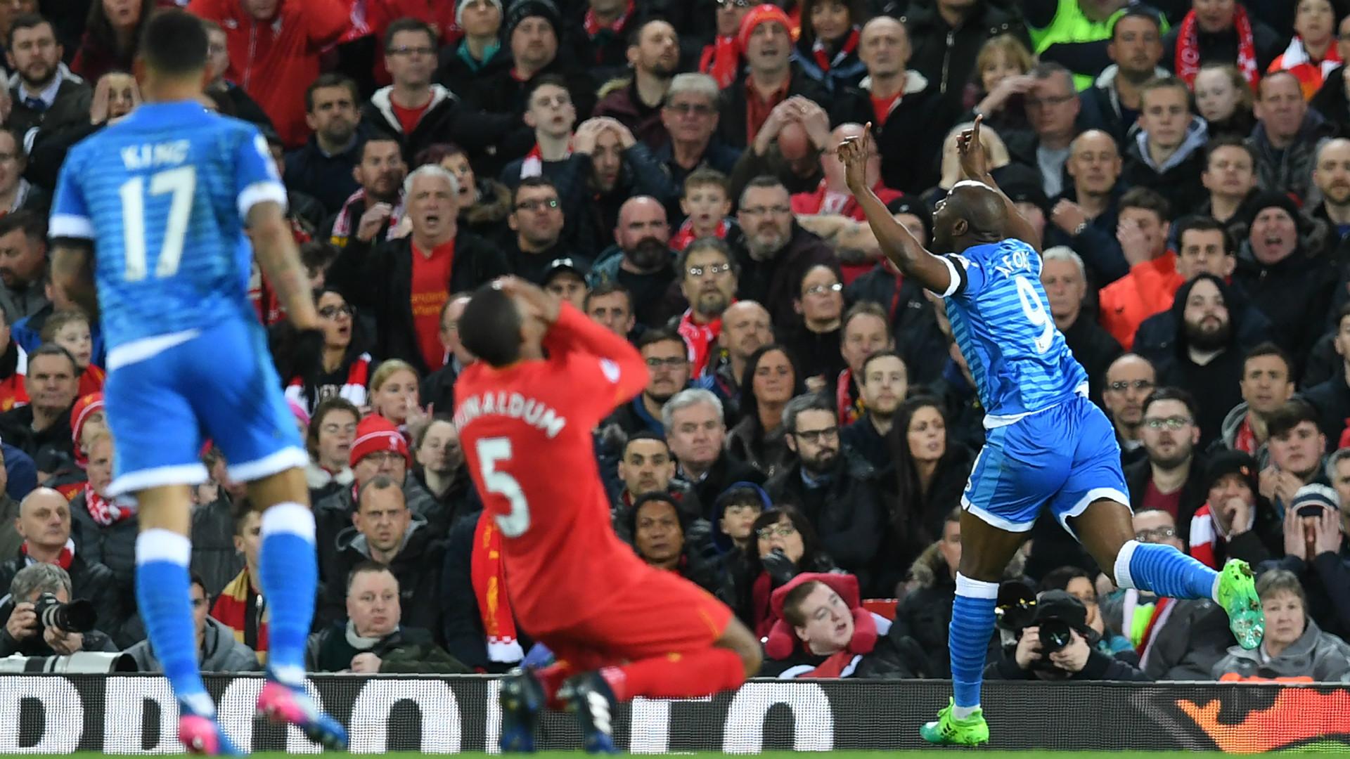 HD Bournemouth celebrate v Liverpool