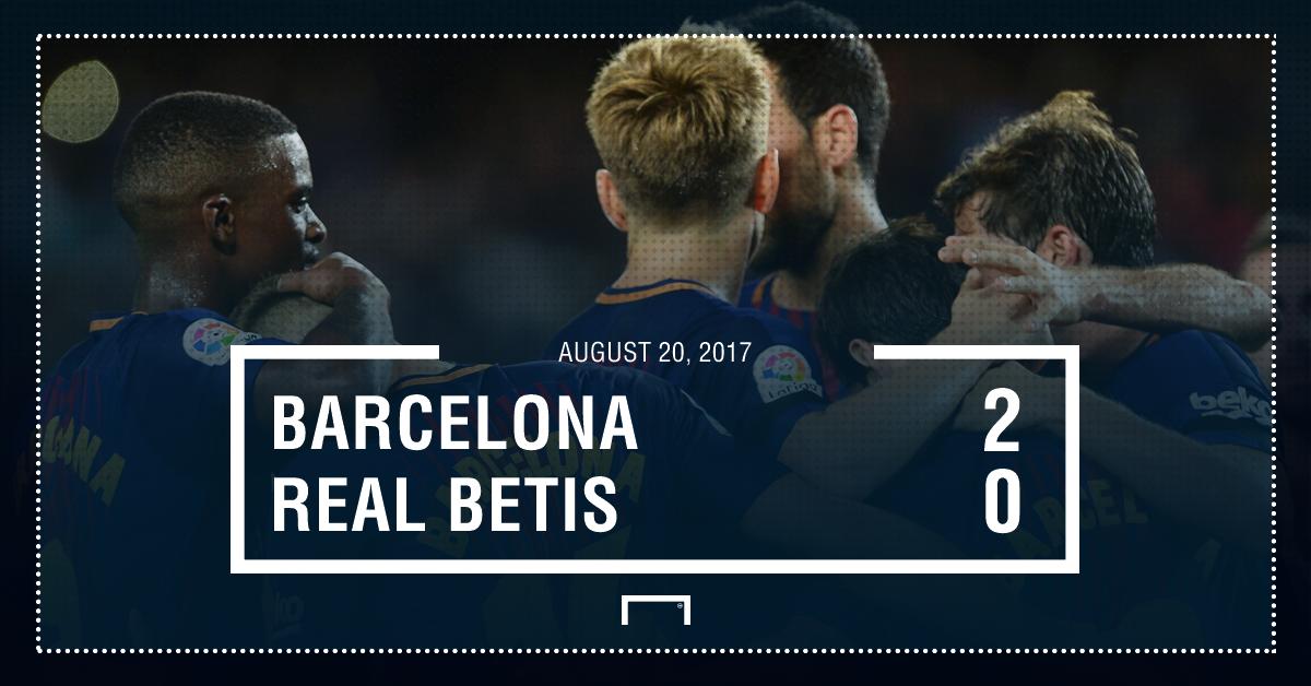 Barcelona Betis graphic