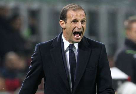 Allegri expecting 'angry' Napoli