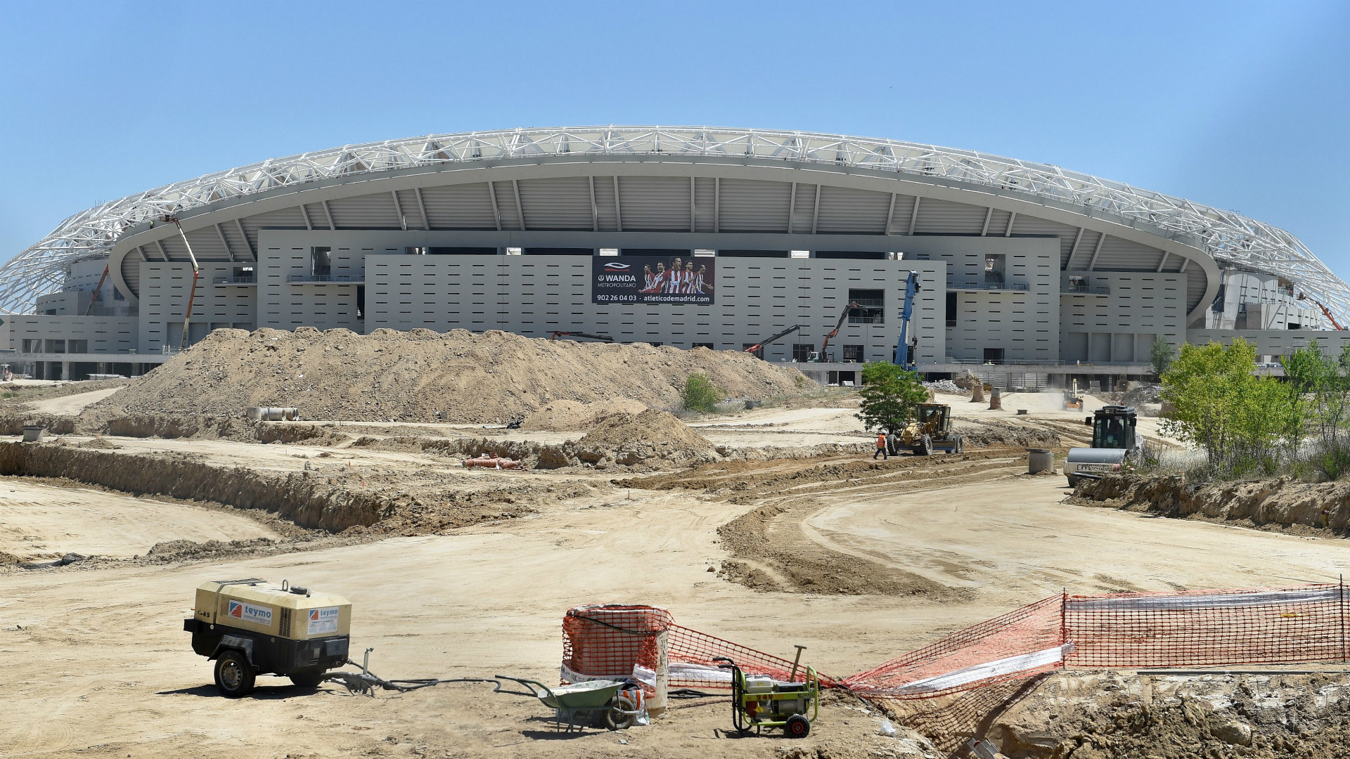 Atletico new stadium
