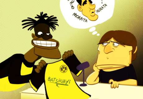 CARTOON: Conte's gift of a signed jersey